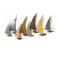 Sculpture SOC (Régate métal et bois)