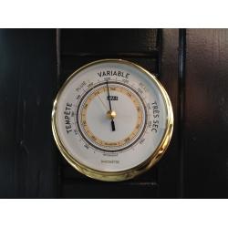 Baromètre ANVI (12 cm - Laiton)
