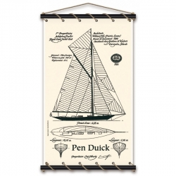 Pen Duick Le Plan (80X130 Ecru)