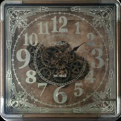 Horloge à engrenage carré