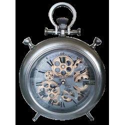 Horloge à engrenage a poser