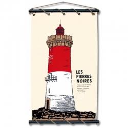 Les Pierres Noires (65 X 110 - Ecru)