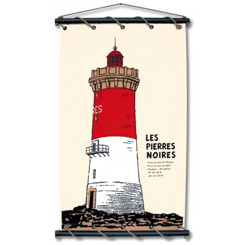 Les Pierres Noires (65X110 - C-Ecru)