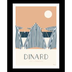 Affiche Dinard par Marcel