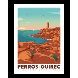 Affiche de Perros Guirec