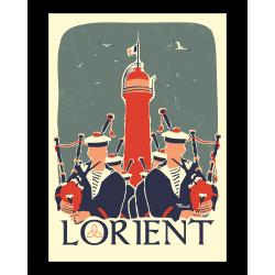 Affiche Lorient