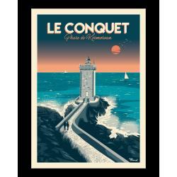 Affiche Le Conquet