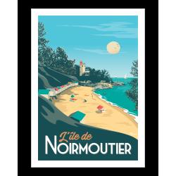 Affiche de Noirmoutier