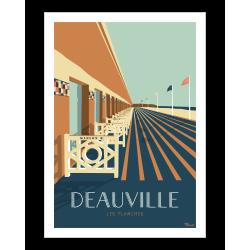 Affiche de Deauville