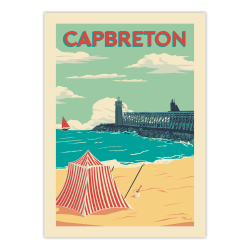 Affiche Cap Breton