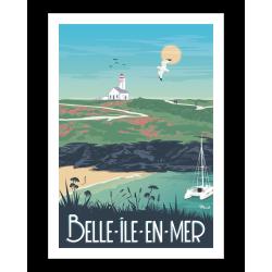 Affiche Belle Ile en Mer