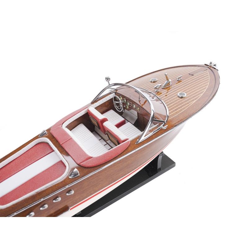 Riva Aquarama Blanc/Rouge 53 cm