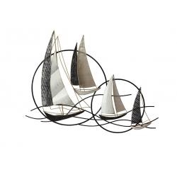 Sculpture voiliers cercles beaux-arts