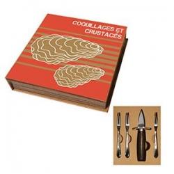 Coffret Huitre Couteau/Fourchettes