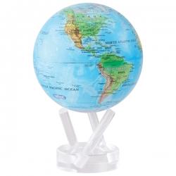 Globe MOVA Blue Relief Map