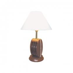 Lampe Poulie (pm - bois)