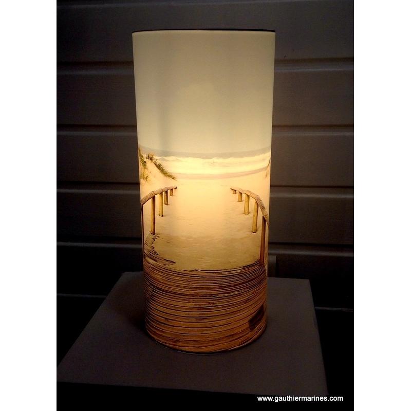 Lampe photo 40cm (Ponton sable)