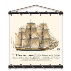 Hermione Aquarelle 75x75