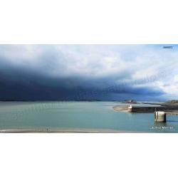 Cadre Dibond 40x80 avis de tempête